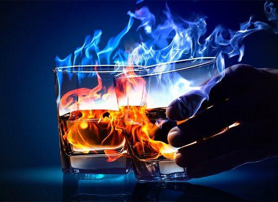 Почему после спиртного тепло