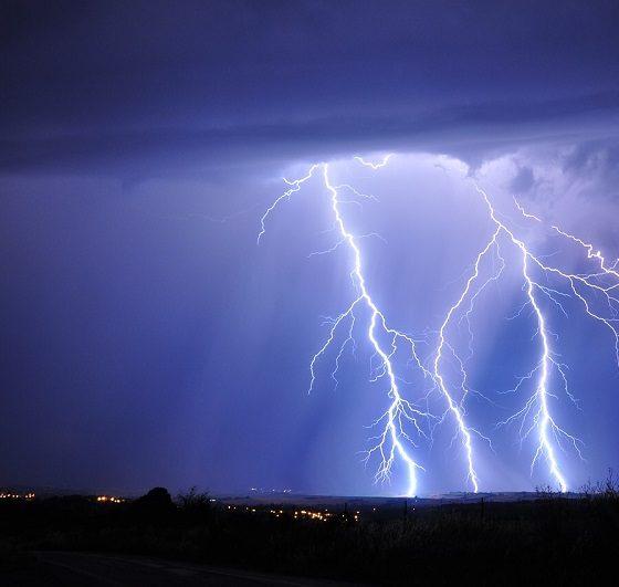 Попадания молний